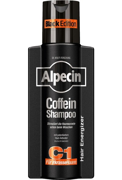 Alpecin Coffein Black Edition Kafein Şampuan C1 250 ml