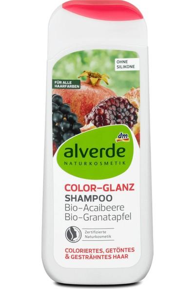 Alverde Silikonsuz Vegan Nar ve Üzüm Özlü Şampuan 200 ml