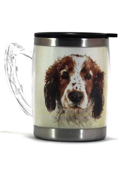 Modaroma Beagle Köpek Termos Kupa Bardak