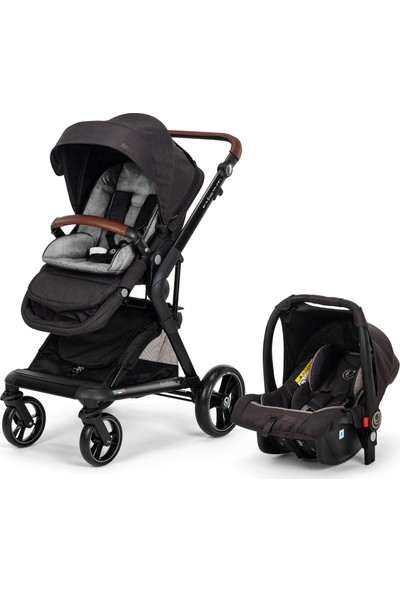 Elele Allroad 2 Travel Sistem Bebek Arabası Siyah