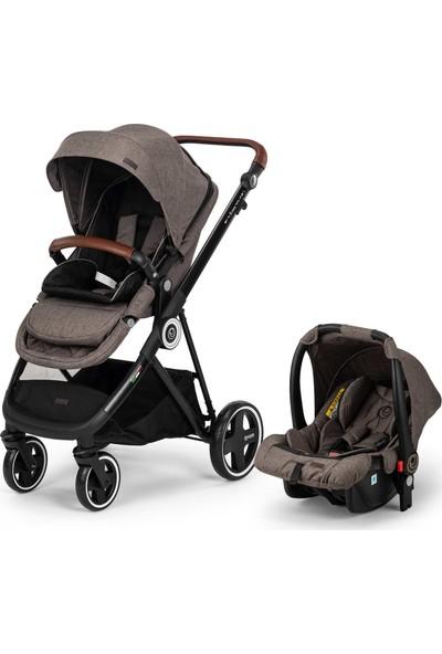 Elele Ranger 2 Travel Sistem Bebek Arabası Gri