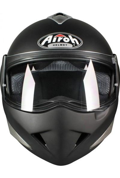 Airoh Mathisse Rs x Black Matt Çene Açılır Motosiklet Kaskı