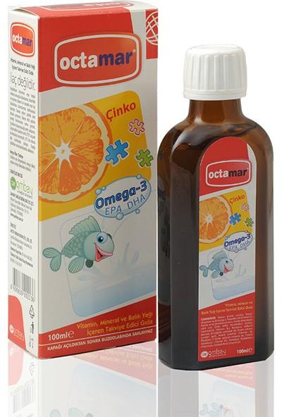 Octamar Balık Yağı Şurup (Omega3+Çinko)