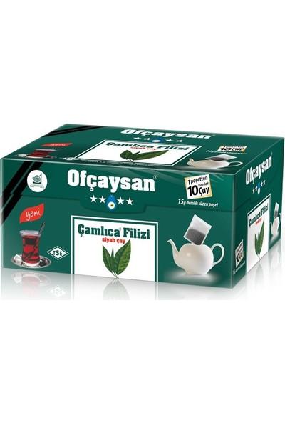 Ofçay Çamlıca Filizi Demlik Poşet Siyah Çay 30 x 15 Gr.