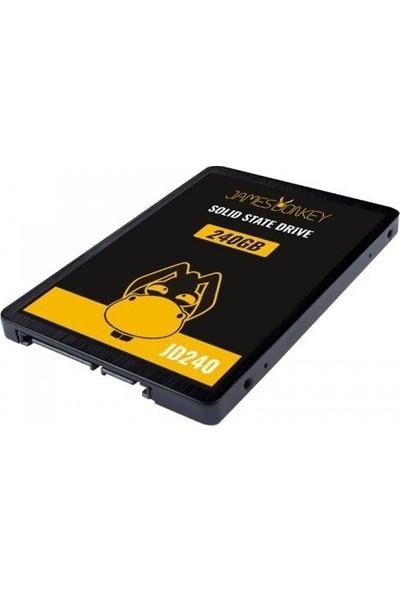 """James Donkey JD240 240GB 2.5"""" 560MB-500MB/sn SATA 3 SSD"""