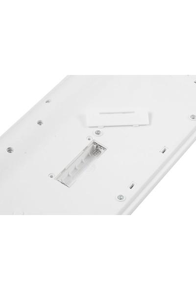 Everest KM-6121 Beyaz Kablosuz Q Slim Klavye + Mouse Set