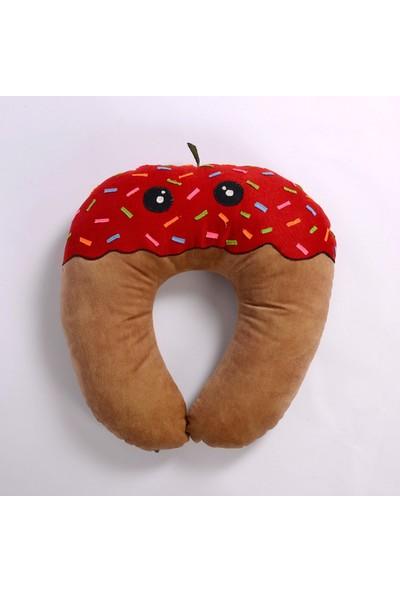 Bebevien Çilek Donut Emzirme Yastığı
