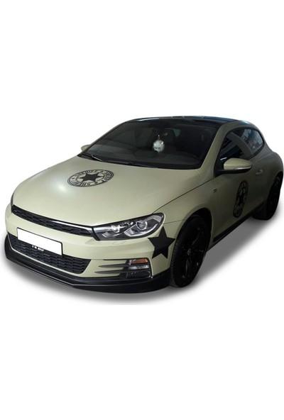 BTG Volkswagen Scirocco Makyajlı Boyasız Ön Ek -Plastik
