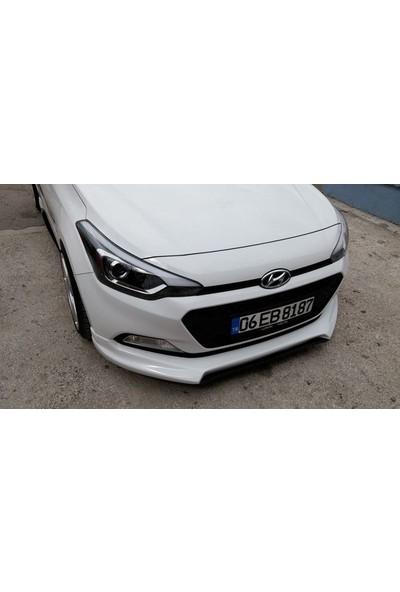 BTG Hyundai I20 Custom Boyasız Ön Ek -Plastik