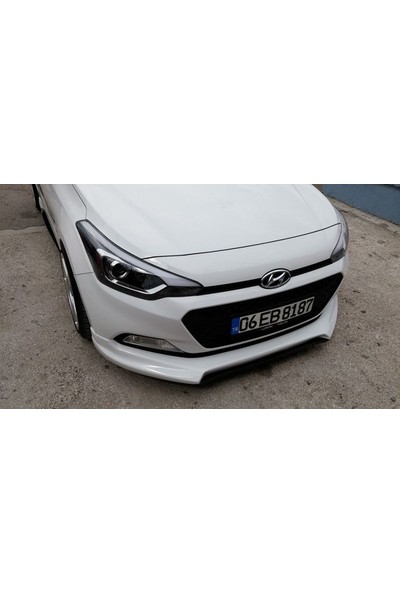BTG Hyundai I20 Custom Fiber Boyalı Ön Ek
