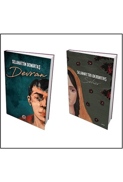 Devran + Seher 2 Kitap Set - Selahattin Demirtaş