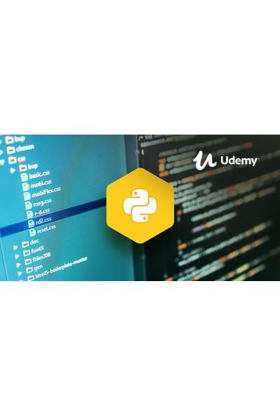 Python: Sıfırdan İleri Seviye Programlama (2019) - 42 Saat