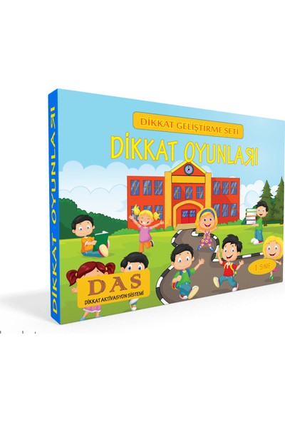 Dikkat Oyunları 1. Sınıf - Çetin Özbey