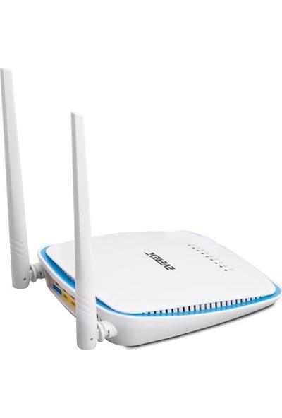Everest Ewn-650 Ethernet 4 Port 300Mbps Repeater+Access Point+Bridge Hıgh Power Kablosuz Router
