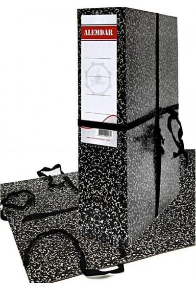 Alemdar Karton Klasör Geniş A4 İpli