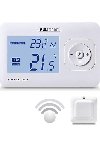 Plussmart PS 220 SET Kablosuz Dijital Oda Termostatı