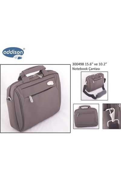 "Addison 300498 10.2"" Kahverengi Notebook Çantası"