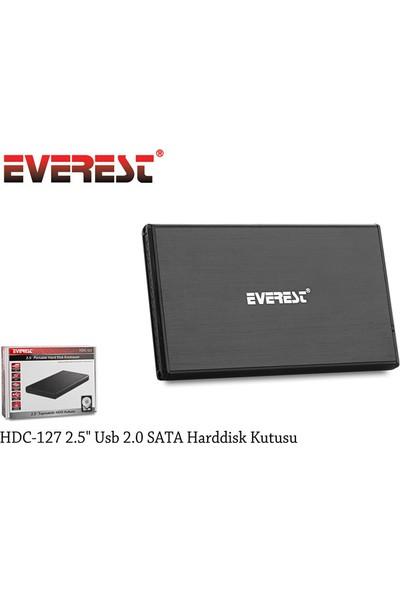 "Everest 2.5"" USB2.0 SATA HDD Kutusu (HDC-127)"