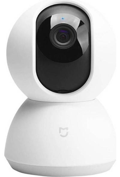 Xiaomi Smart Home 360 Derece Dönebilen Kızılötesi Gece Görüşlü IP Kamera HD 1080p - Distribütör Garantili