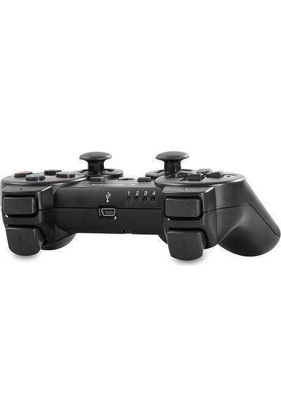 Snopy Rampage Sg-Rps3 Siyah Play-Station Ps3 Bluetooth Çift Titreşimli Joypad