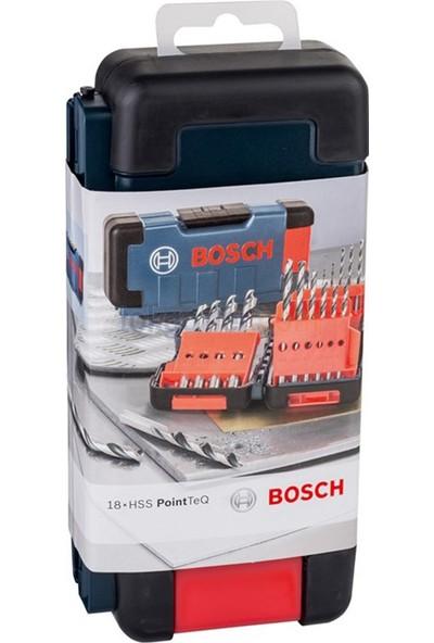Bosch Hss Pointteq 18'li Toughbox Metal Delme Set