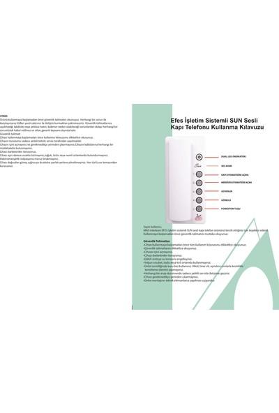 Mas Bergama Compact Kapı Telefonu BT01C