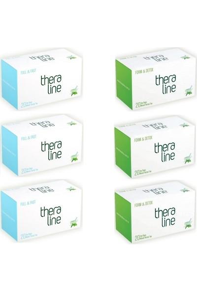 Theraline Full&fast ( Tok Tutucu Özellikte )Bitki Çayı (3 Kutu) + Theraline Form Detox Bitki Çayı (3 Kutu) + Giftpoint Ayaklı Buzdolabı Magnetli Resim Çerçevesi