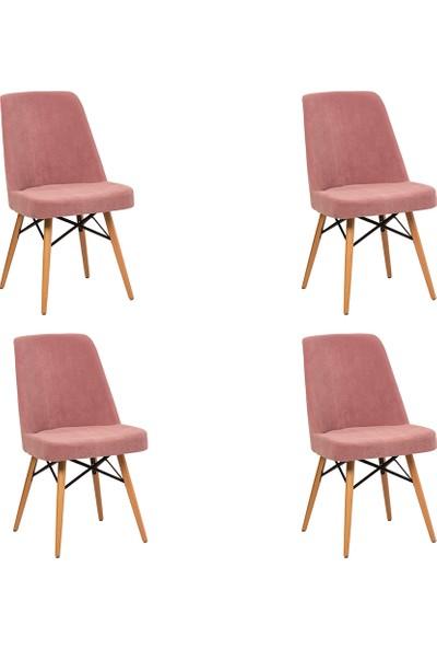 Ak Sandalye Kupon Sandalye 4lü