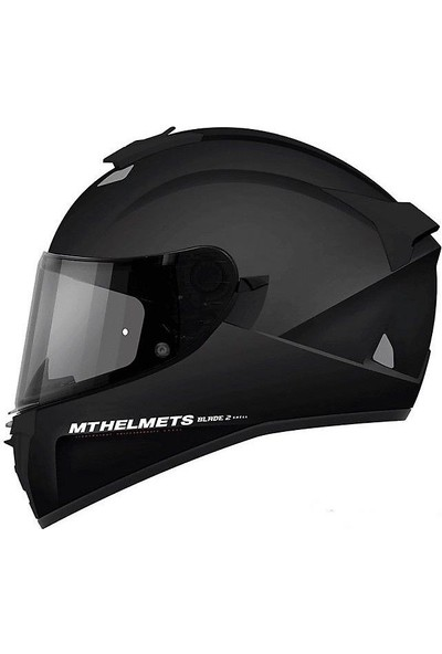 mt Blade 2 Sv Solid A1 Gloss Full Face Motosiklet Kaski