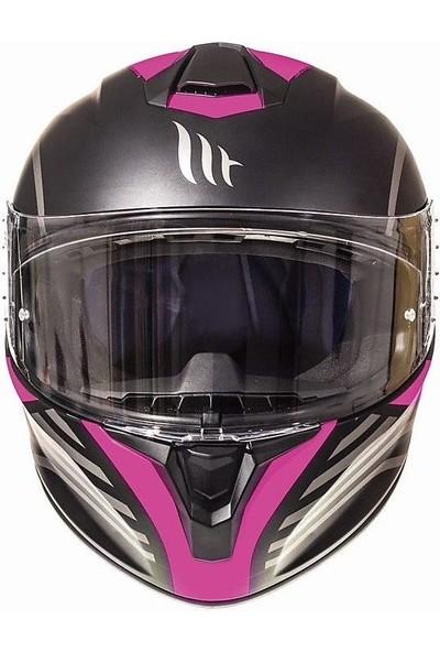 mt Targo Doppler A3 Matt Full Face Motosiklet Kaski
