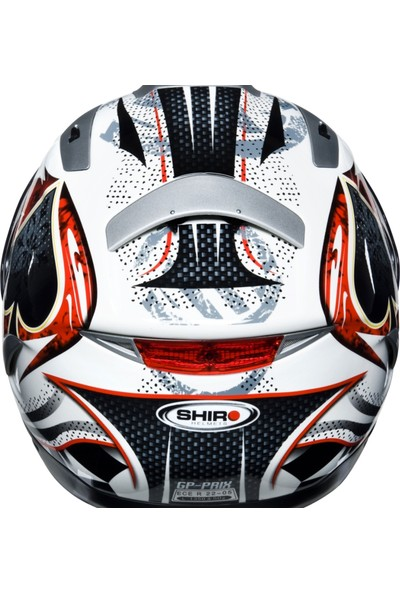 Shiro SH-7000 Gp Prix Race Full Face Motosiklet Kaski