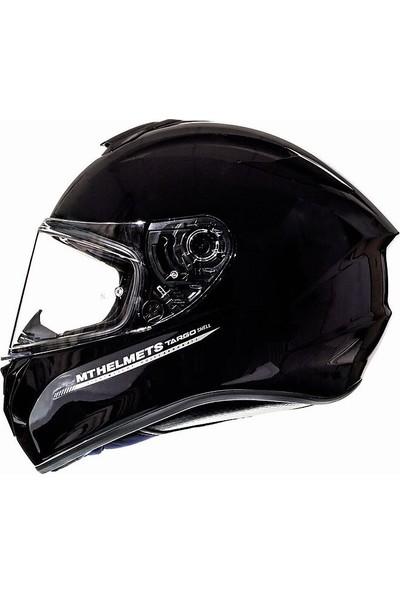 mt Targo Solid A1 Gloss Full Face Motosıklet Kaskı 1117000011