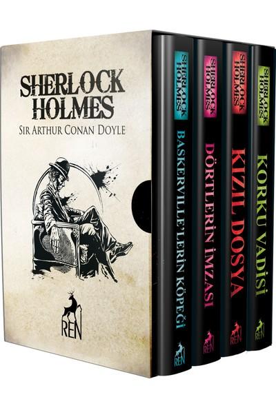 Sherlock Holmes Roman Seti (4 Kitap) - Sir Arthur Conan Doyle