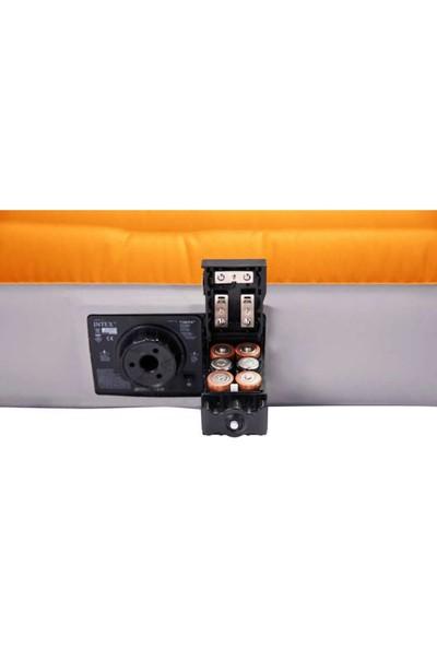 Intex Twin Deluxe - Pilli Şişme Yatak-64791 (99X191X20 Cm)