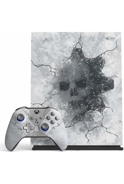Microsoft Xbox One X Gears 5 Limited Edition Bundle 1 TB Oyun Konsolu FMP-00139
