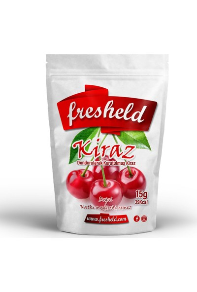 Fresheld Dondurularak Kurutulmuş Kiraz 20G