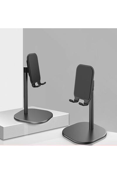 Ally Metal Tablet Masaüstü Standı AL-31465 Siyah