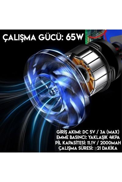 Baseus Capsule Cordless Vacuum Araç Taşınabilir Kablosuz Süpürge CRXCQ01-01