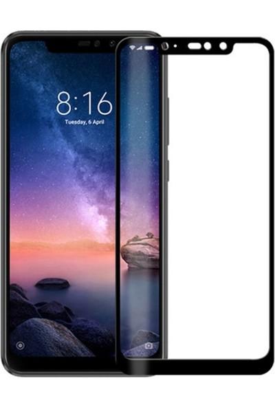 Smody Xiaomi Redmi Note 6 Pro Kırılmayan 6d Nano Esnek Full Ekran Koruyucu Cam