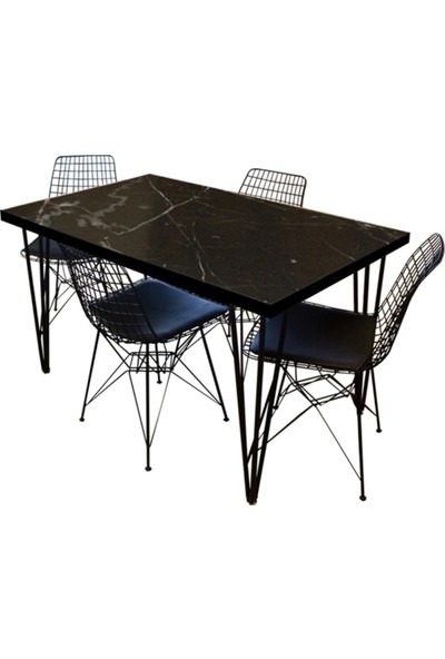 Grande Metal Mutfak Masası Tek Grande Home