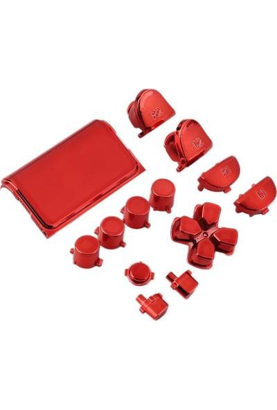 Konsol İstasyonu Playstation 4 Kırmızı Renkli Tuş Takımı