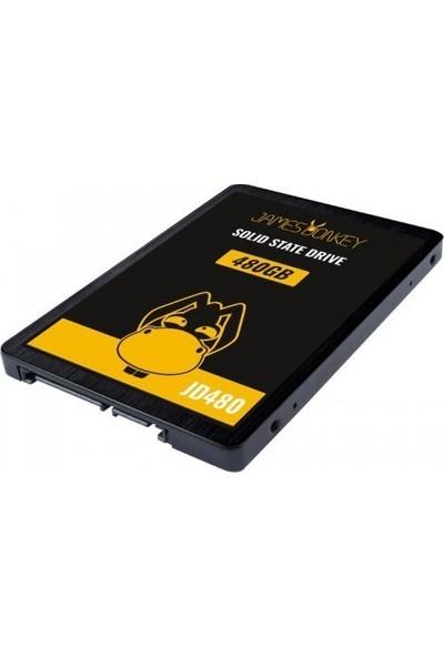 """James Donkey JD480 480GB 2.5"""" 510MB-480MB/sn SATA 3 SSD"""