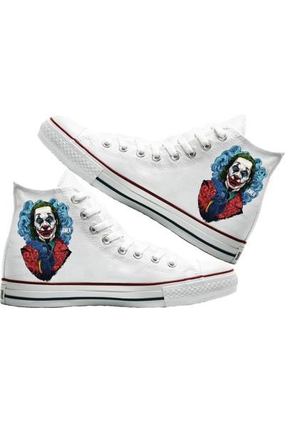 Art Fashion Joker Baskılı Unisex Canvas Ayakkabı