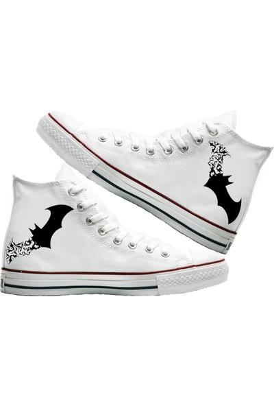Art Fashion The Bats Baskılı Unisex Canvas Ayakkabı