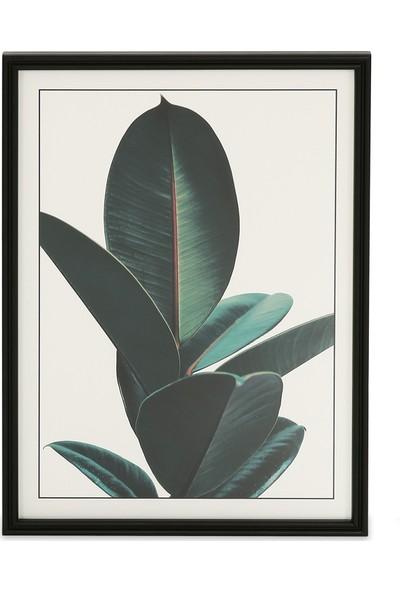 Glam Lava Tablo Siyah 50 x 70 cm