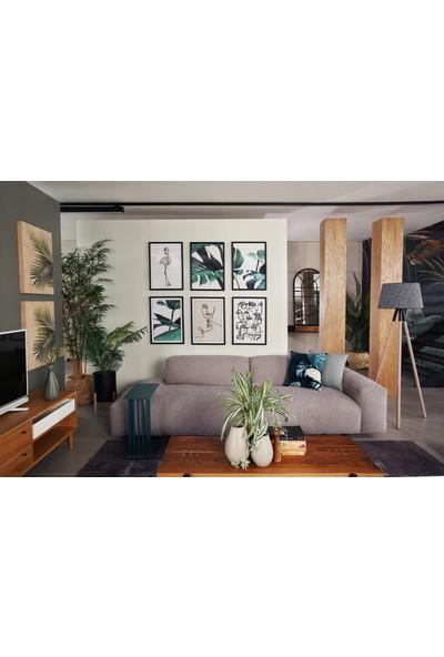 Glam Ohen Tablo Siyah 50 x 70 cm