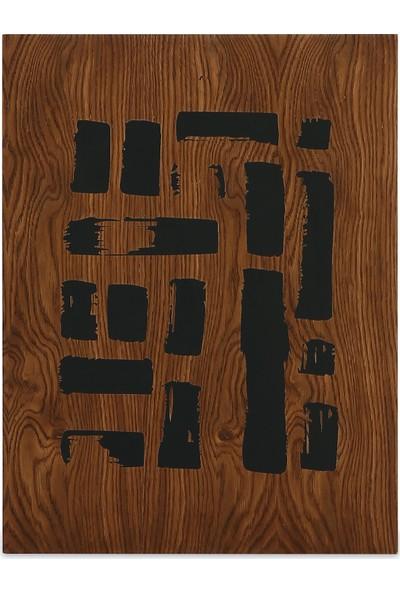 Glam Egon Ahşap Tablo 52 x 69 cm