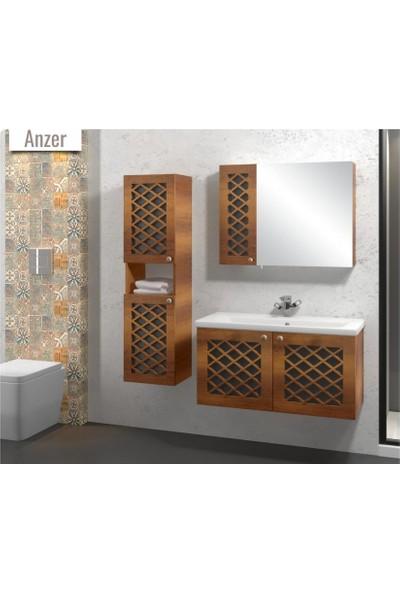 Samir Anzer Banyo Dolabı 90 cm