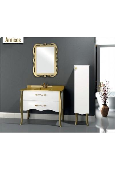 Samir Amisos Banyo Dolabı 80 cm