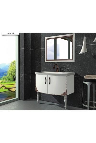 Samir Zen Banyo Dolabı 90 cm